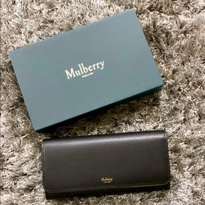 NWT Mulberry Continental Wallet